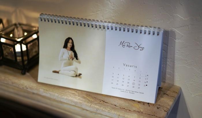 Mai Ram Yoga kalendorius 2020 vidus