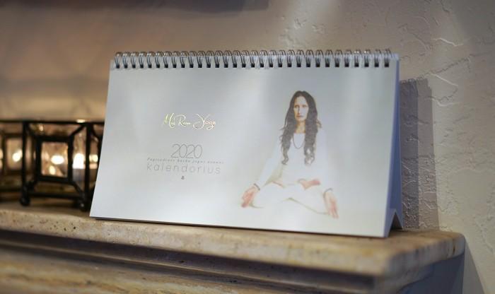Mai Ram Yoga kalendorius 2020 virselis