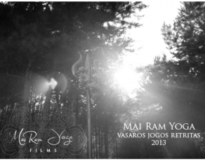 Mai Ram Yoga Vasaros jogos retritas 2013
