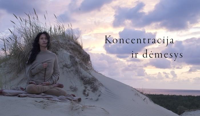 Mai Ram Devi koncentracija ir demesys